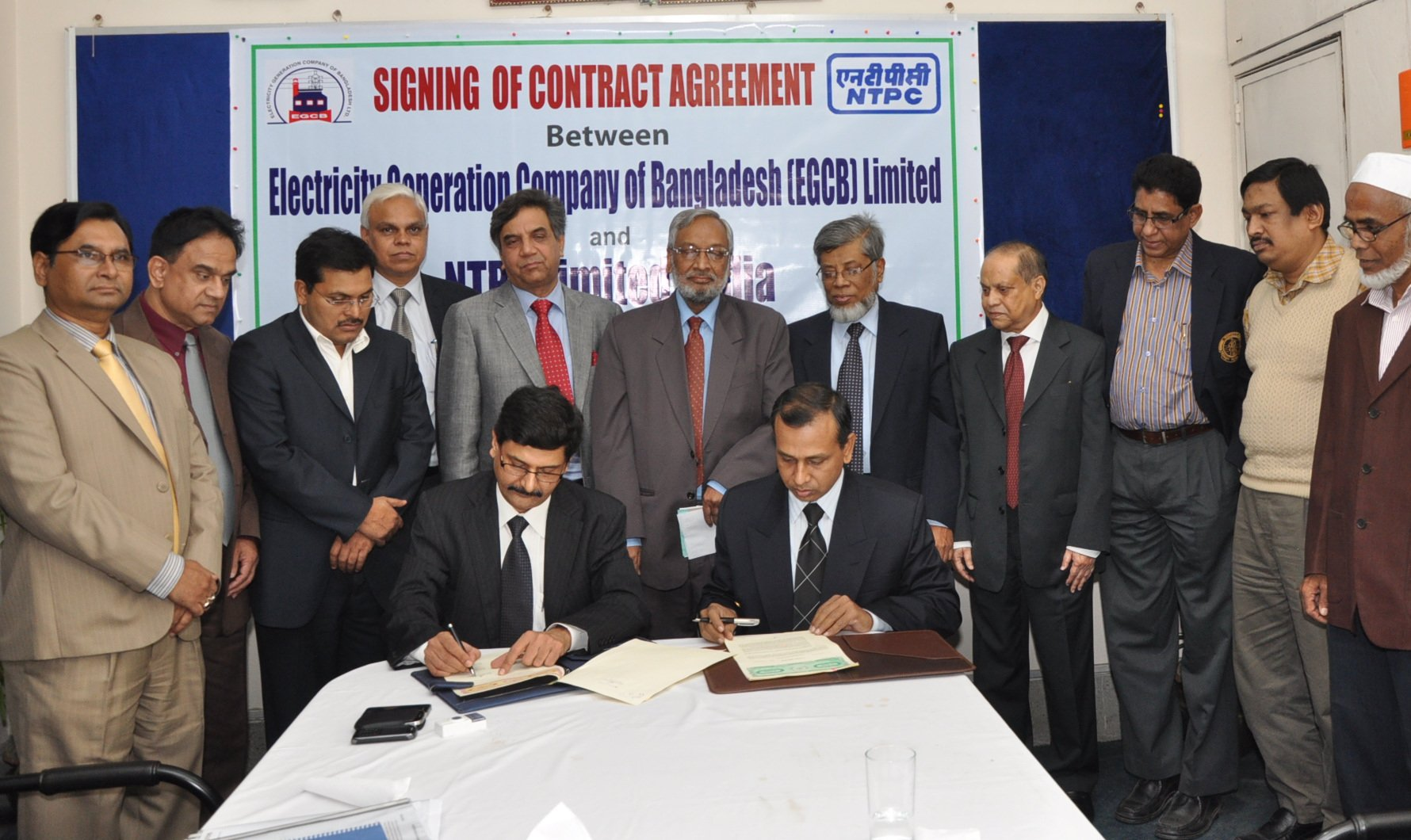 NTPC and EGCB ink Contract Agreement in Bangladesh