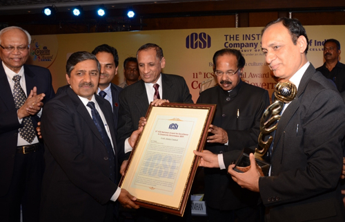 GAIL gets Top ICSI National award for Excellence in Corporate Governance