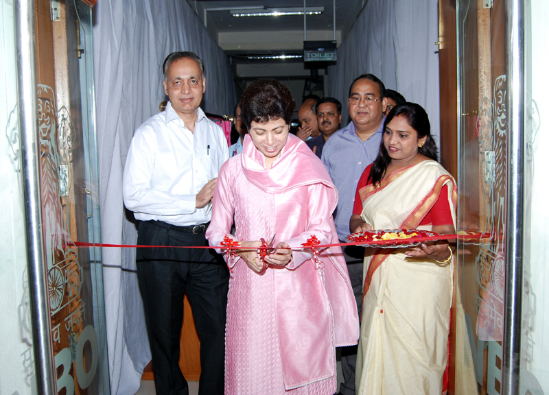 The Union Minister for Housing and Urban Poverty Alleviation and Culture, Kumari Selja…