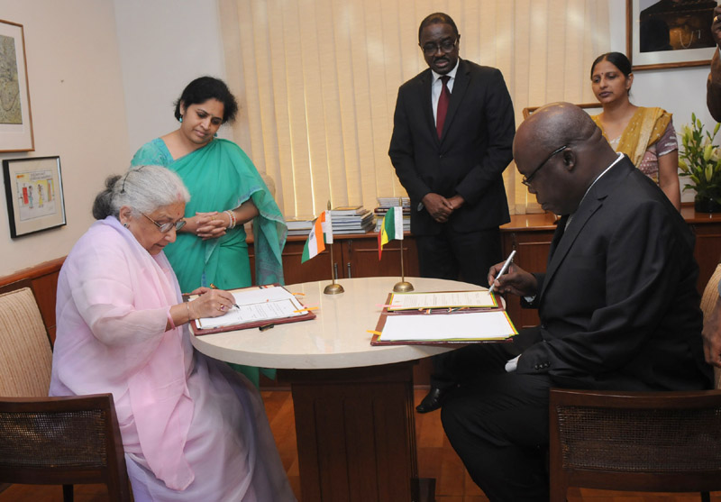 The Union Minister for Culture, Smt. Chandresh Kumari Katoch and the Minister…