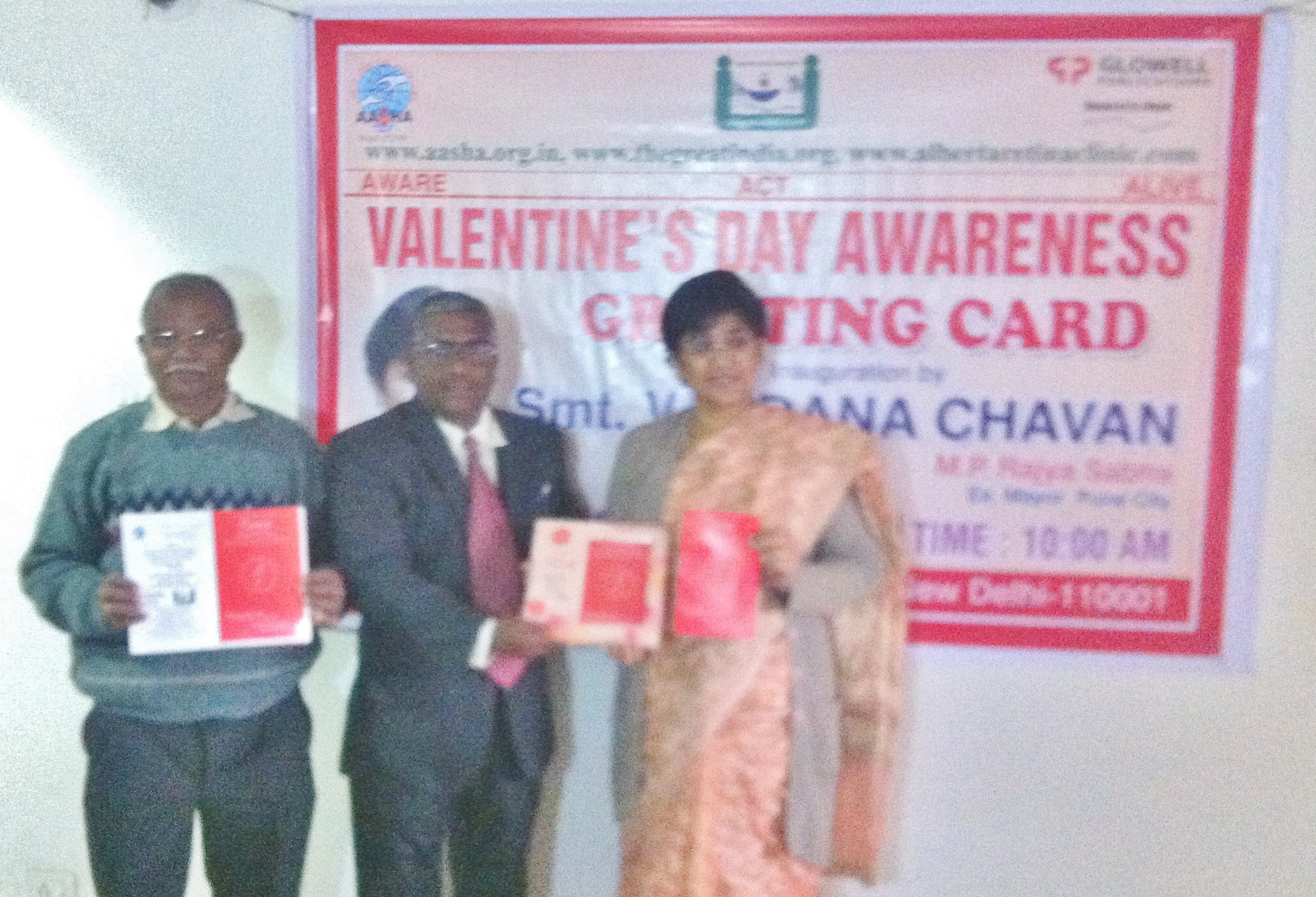 INNOVATIVE GREETING CARD WITH MESSAGE OF TRUE LOVE INAUGRATED BY…