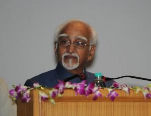 The Vice President, Shri Mohd. Hamid Ansari delivering inaugural address at the...