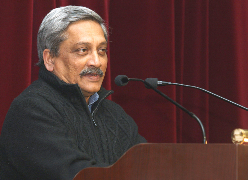 MANOHAR PARRIKAR SWORN IN AS GOA CM ,TO PROVE MAJORITY ON THURSDAY