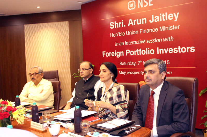 The Union Minister for Finance, Corporate Affairs and Information & Broadcasting,..