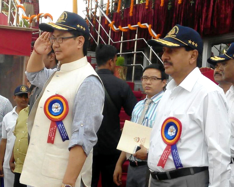 The Minister of State for Home Affairs, Shri Kiren Rijiju inaugurating the..