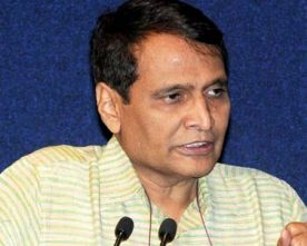 PRABHU GIVEN ADDITIONAL CHARGE OF CIVIL AVIATION MINISTRY