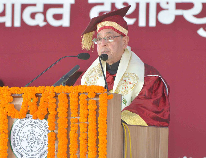 The President Shri Pranab Mukherjee Addressing At The 29th