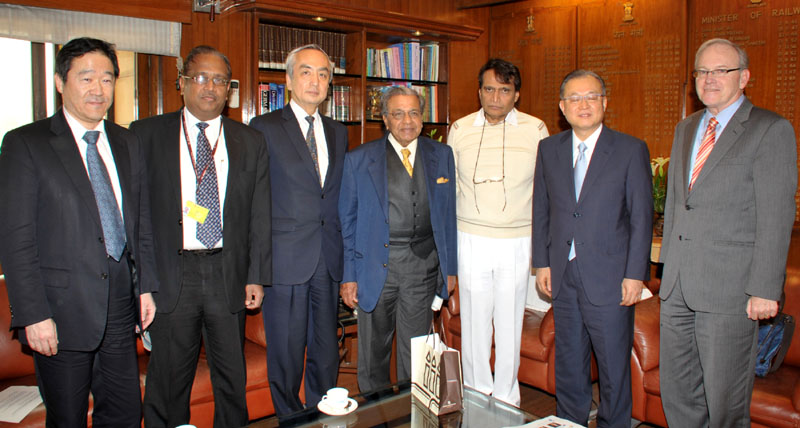 The Chairman of the International High Speed Rail Association (IHRA), Mr. Masafumi Shukuri..