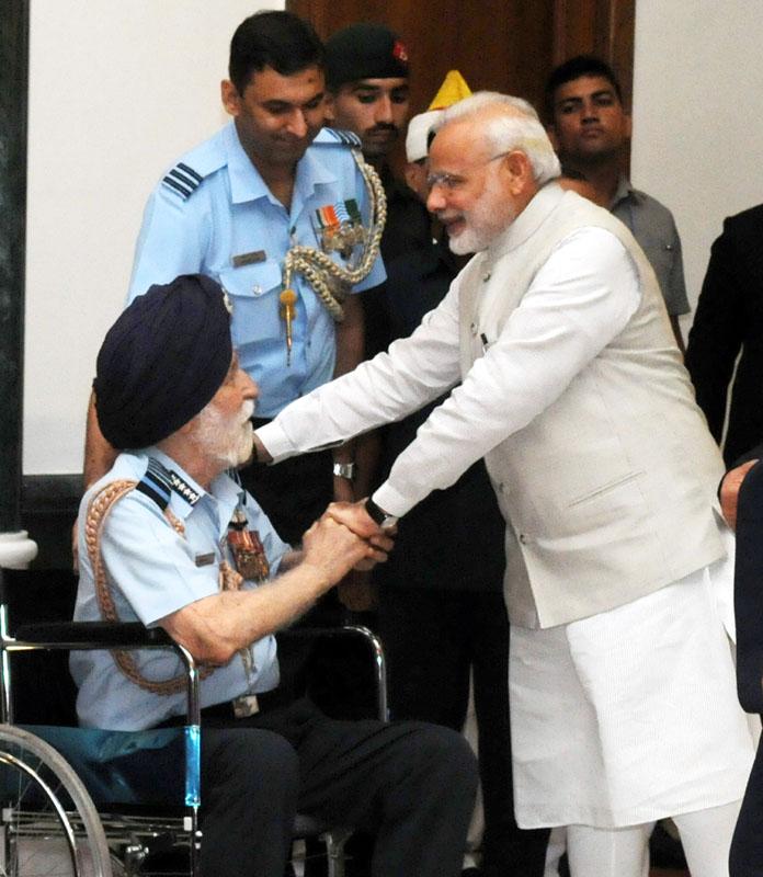 The Prime Minister, Shri Narendra Modi interacting with…