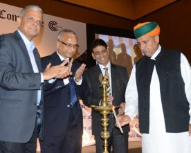 The Minister of State for Finance and Corporate Affairs, Shri Arjun Ram Meghwal ..