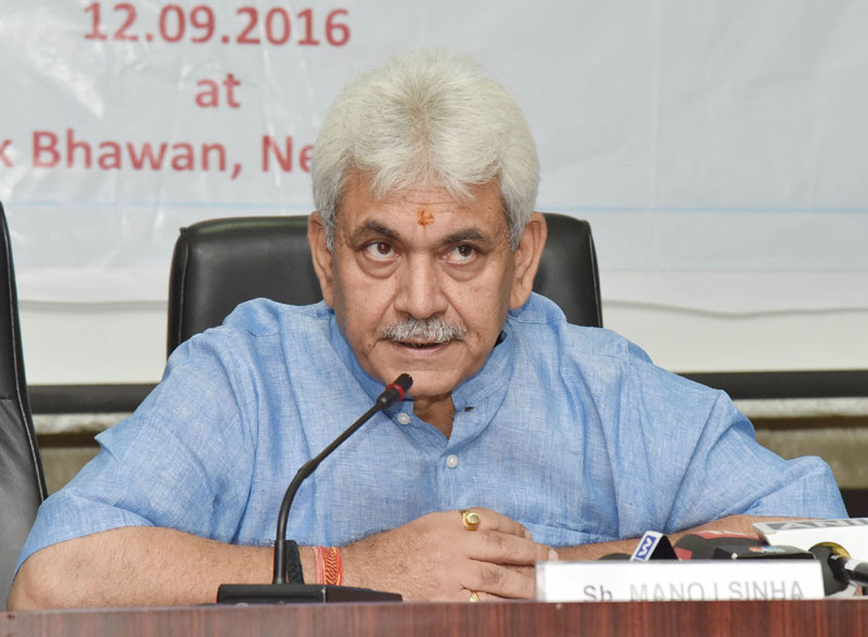 Minister of Communication Shri Manoj Sinha to launch the first ever India Mobile Congress 2017