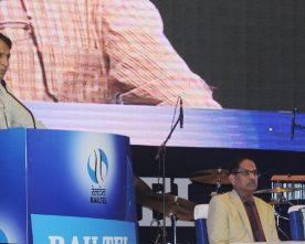 The Union Minister for Railways, Shri Suresh Prabhakar Prabhu addressing..