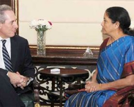 INDIA URGES US TO ENGAGE IN NEGOTIATIONS FOR SIGNING OF..