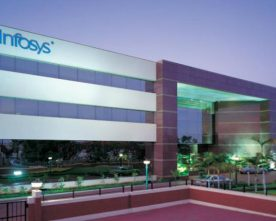 IT MAJOR INFOSYS REPORTS A NET PROFIT OF 6.1% YOY GROWTH