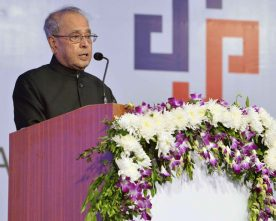 The President, Shri Pranab Mukherjee addressing at the inauguration of the Sardar Vallabhbhai Patel Heart Institute, at Ankleshwar, Gujarat