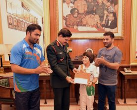 The Chief of Army Staff, General Dalbir Singh felicitated Miss Tajamul Islam,..