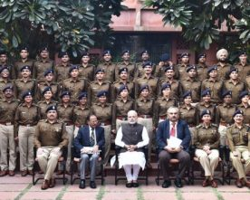 2015 batch IPS Probationers  calls on PM