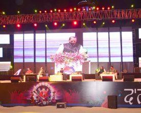 The Minister of State for Home Affairs, Shri Hansraj Gangaram Ahir addressing ..