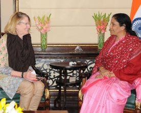 The Representative, UN Women, Ms. Rebecca Reichmann Tavares meeting ..