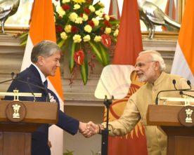 The Prime Minister, Shri Narendra Modi and the President of the Republic of ..