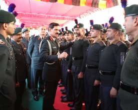 The Chief of Army Staff, General Dalbir Singh interacting with the troops of..