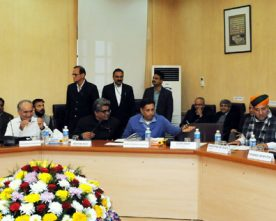 The Union Minister for Finance and Corporate Affairs, Shri Arun Jaitley chairing ..