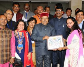 The Union Minister for Social Justice and Empowerment, Shri Thaawar Chand ..