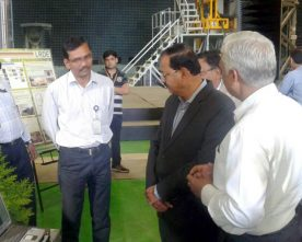 The Minister of State for Defence, Shri Subhash Ramrao Bhamre visiting the..