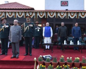 The President, Shri Pranab Mukherjee, the Prime Minister, Shri Narendra..