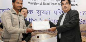 The Union Minister for Road Transport & Highways and Shipping, ..