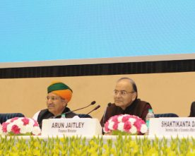 The Union Minister for Finance and Corporate Affairs, Shri Arun Jaitley ..
