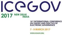 INDIA TO HOST 10TH ICEGOV 2017 IN DELHI FROM MARCH 7-9TH
