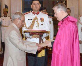 The Apostolic Nuncio-Designate of the Holy See, Msgr. Giambattista..
