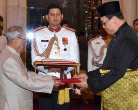 The High Commissioner-Designate of Malaysia, Mr. Dato' Hidayat..