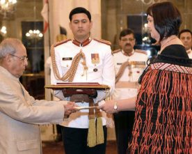 The High Commissioner-Designate of New Zealand, Ms. Joanna Kempskers..