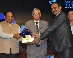 NHPC conferred Water Digest Water Award for Best Water Management in Power Generation