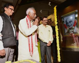 The Minister of State for Labour and Employment (Independent Charge), Shri Bandaru Dattatreya ..