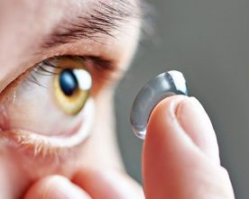A contact lens could one day help diabetics detects blood sugar levels