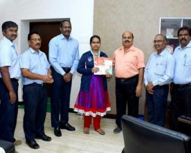 Selvi  L.Jyosana 7th Std. student brings silver medal home from  the Asian Youth ..