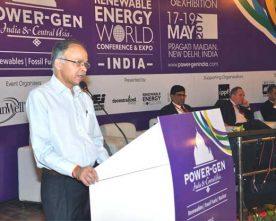 CMD, NHPC delivers Keynote address at POWER-GEN India