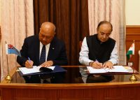 MoU ON DEFENCE COOPERTION SIGNED BETWEEN INDIA AND FIJI