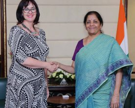 The High Commissioner of New Zealand to India, Ms. Joanna Kempkers meeting ..