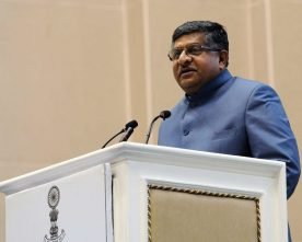 SOCIAL MEDIA SITES INCLUDING FACEBOOK WILL NOT BE TOLERATED IF THEY INFLUENCE INDIA ELECTORAL PROCESS -RAVI SHANKAR PRASAD