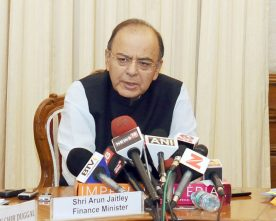 MINISTER FOR DEFENCE ARUN JAITLEY TO EMBARK ON 3 DAY VISIT TO RUSSIA