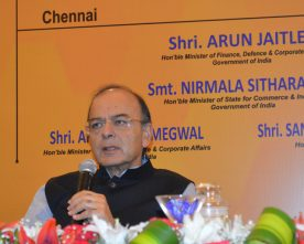 ARUN JAITLEY ADDRESS INDUSTRIALISTS & HEADS OF VARIOUS CHAMBERS IN CHENNAI