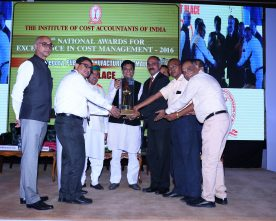 CEL RECEIVES NATIONAL AWARD FOR EXCELLENCE IN COST MANAGEMENT