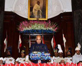 PRESIDENT OF INDIA TO ADDRESS NATION TOMORROW