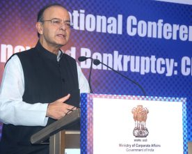 NATIONAL CONFERENCE OF INSOLVENCY AND BANKRUPTCY ADDRESSED BY ARUN JAITLEY