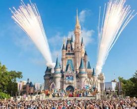 2 injured as driver hits Disney World bus