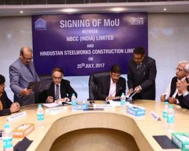 NBCC SIGNS MOU WITH HSCL